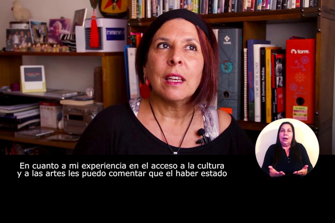 Mujer, arte, cultura e inclusión trae ciclo de entrevistas autofilmadas