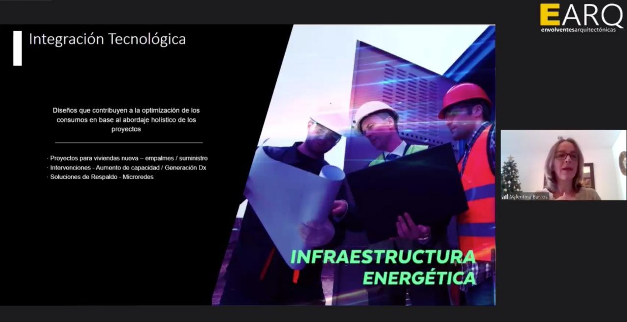 En encuentro Universidad-Empresa, la Escuela de Arquitectura de la UCN invitó a pensar sobre la gestión de Energías Renovables en edificios de Antofagasta