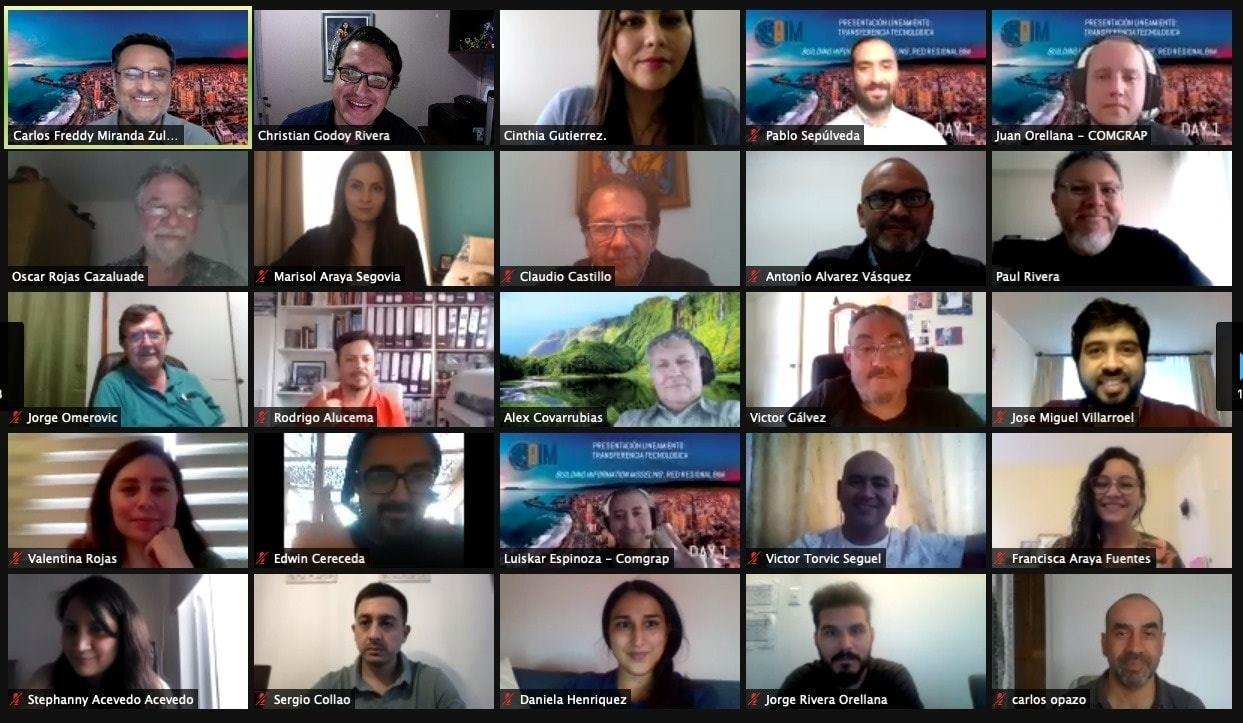 COMGRAP convierte a Red BIM Antofagasta en el proyecto de mayor alcance en Chile